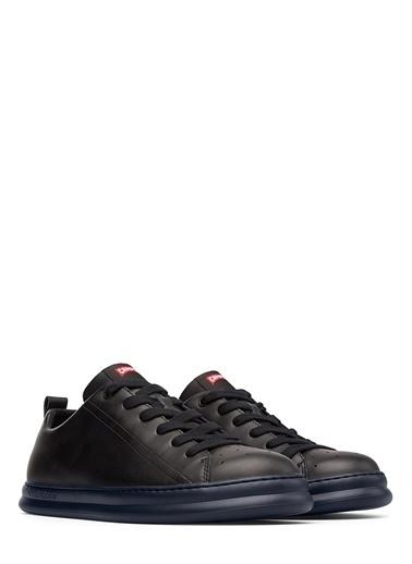 Camper %100 Deri Sneakers Ayakkabı Siyah